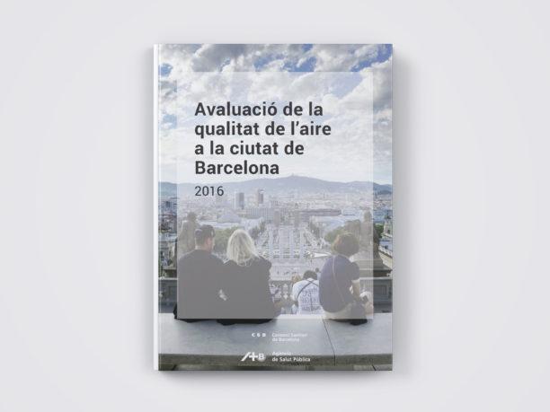 Avaluació qualitat aire Barcelona 2016